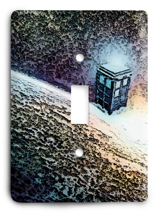 Doctor Who - Collector Series V46 Light Switch Cover - Colorful Switches