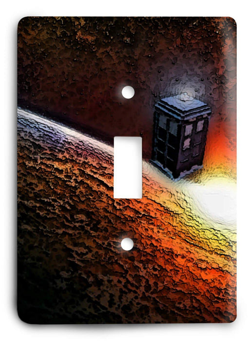 Doctor Who - Collector Series V47 Light Switch Cover - Colorful Switches