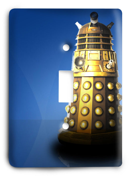 Doctor Who - Collector Series V49 Light Switch Cover - Colorful Switches