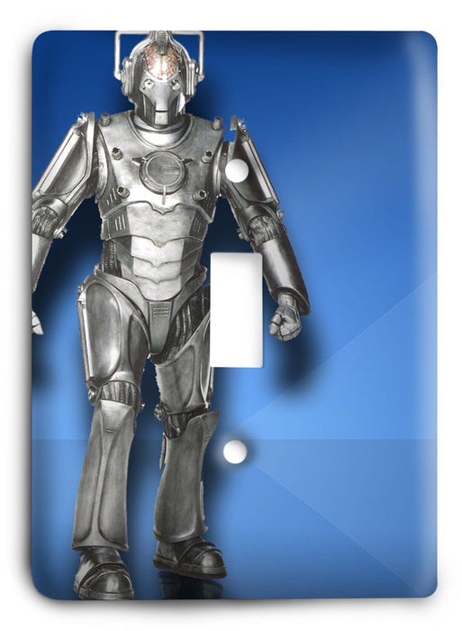 Doctor Who - Collector Series V51 Light Switch Cover - Colorful Switches
