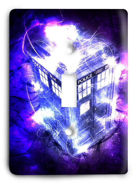 Doctor Who - Collector Series V54 Light Switch Cover - Colorful Switches