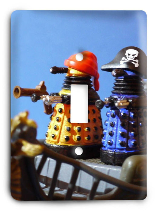 Doctor Who - Collector Series V71 Light Switch Cover - Colorful Switches