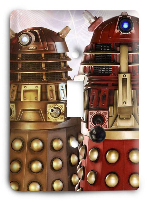 Doctor Who - Collector Series V73 Light Switch Cover - Colorful Switches