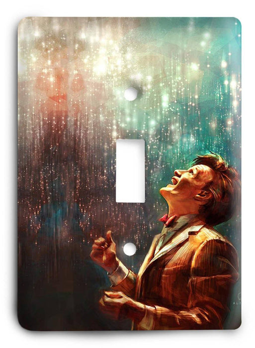 Doctor Who - Collector Series V85 Light Switch Cover - Colorful Switches