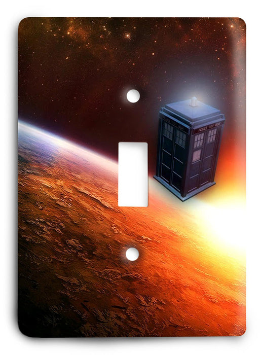 Doctor Who - Collector Series V90 Light Switch Cover - Colorful Switches