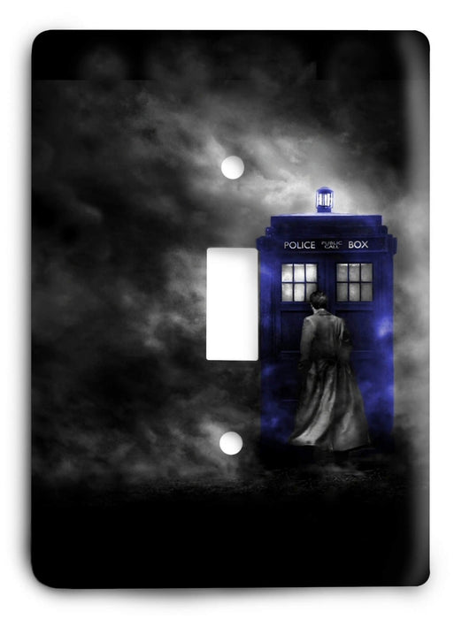 Doctor Who - Collector Series V93 Light Switch Cover - Colorful Switches