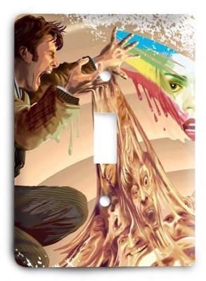Dr Who g2 - 1 Light Switch Cover - Colorful Switches