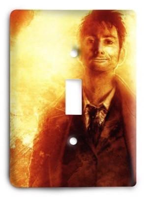 Dr Who g2 - 8 Light Switch Cover - Colorful Switches