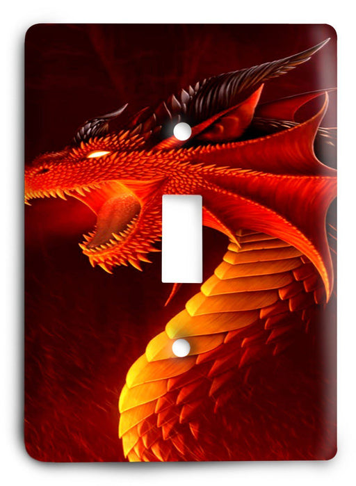 Dragon G5v1 Light Switch Cover - Colorful Switches