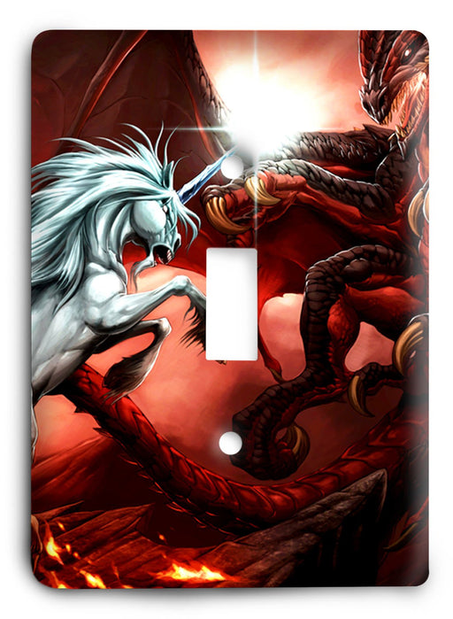 Dragon G5v2 Light Switch Cover - Colorful Switches