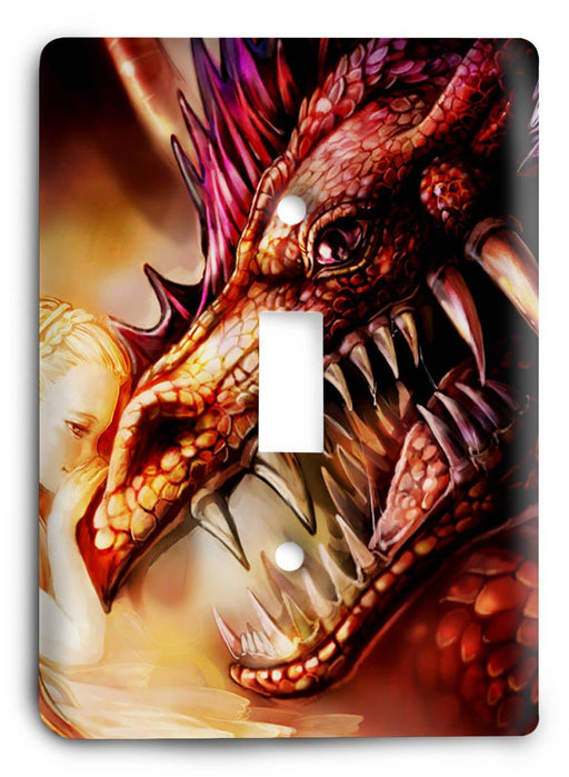 Dragon G5v6 Light Switch Cover - Colorful Switches