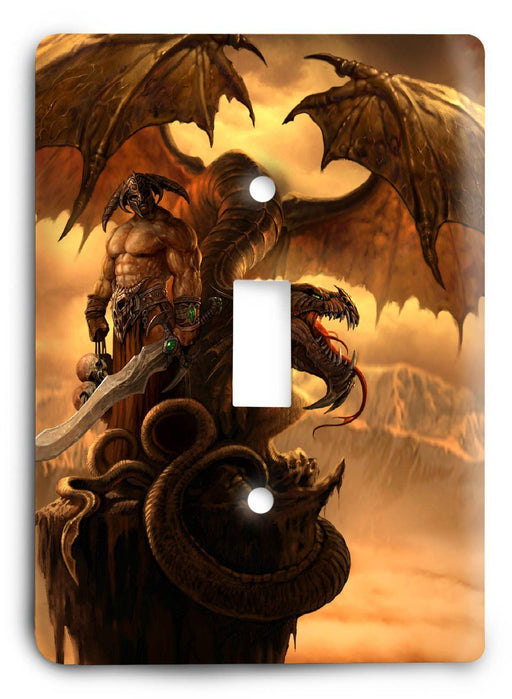 Dragon G5v7 Light Switch Cover - Colorful Switches