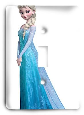 Elsa - Frozen Light Switch - Colorful Switches