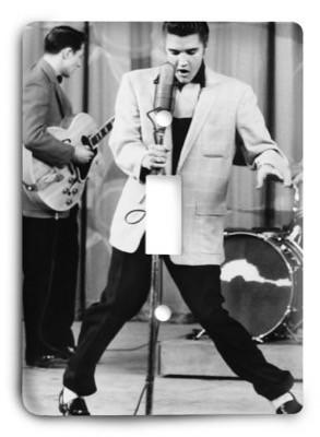 Elvis Presley The King v25 Light Switch Cover - Colorful Switches