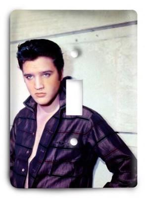 Elvis Presley The King v8 Light Switch Cover - Colorful Switches