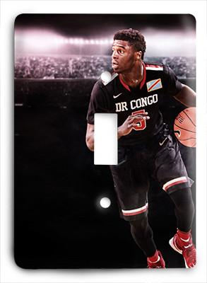 Emmanuel Mudiay Congo National Light Switch - Colorful Switches