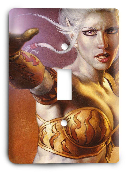 EverQuest G5v16 Light Switch Cover - Colorful Switches