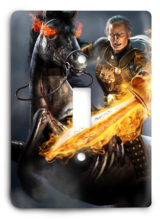 EverQuest G5v18 Light Switch Cover - Colorful Switches