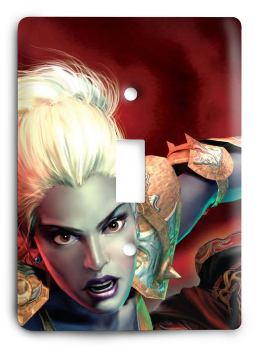 EverQuest G5v6 Light Switch Cover - Colorful Switches