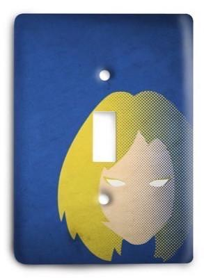 Fantatic Four Marvel Comics G3 11 Light Switch Cover - Colorful Switches