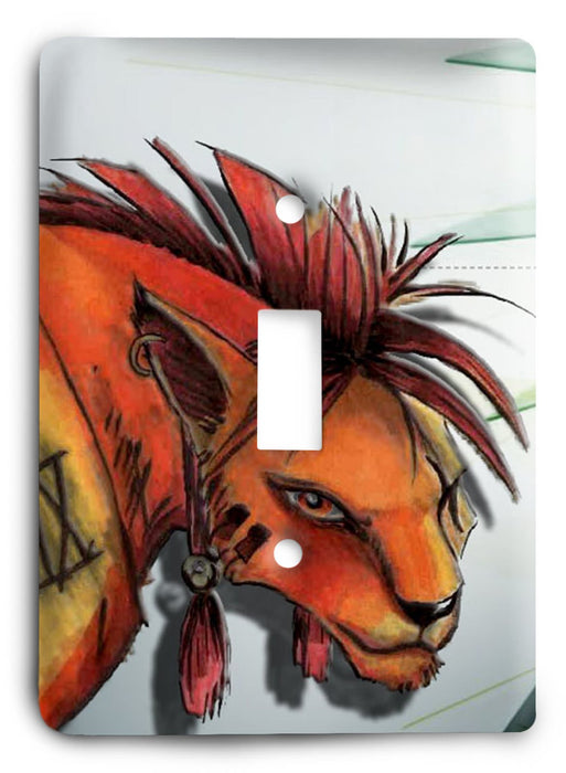 Final Fantasy G5v18 Light Switch Cover - Colorful Switches