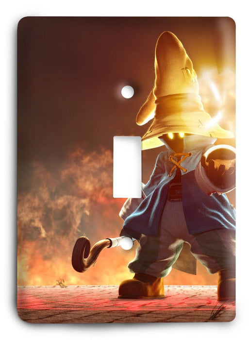 Final Fantasy G5v32 Light Switch Cover - Colorful Switches