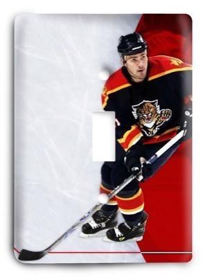 Florida Panthers NHL 2 Light Switch Cover - Colorful Switches