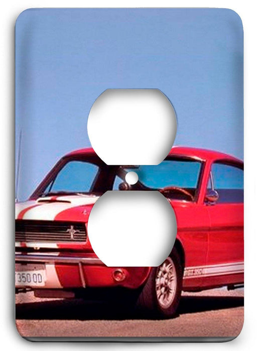 Ford Shelby Mustang  v01 Outlet Cover - Colorful Switches