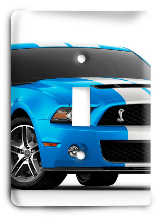 Ford Shelby Mustang  v03 Light Switch Cover - Colorful Switches