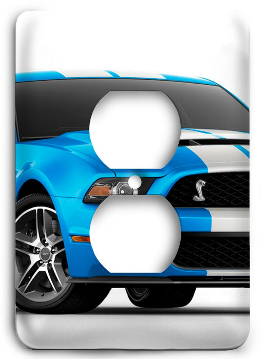 Ford Shelby Mustang  v03 Outlet Cover - Colorful Switches