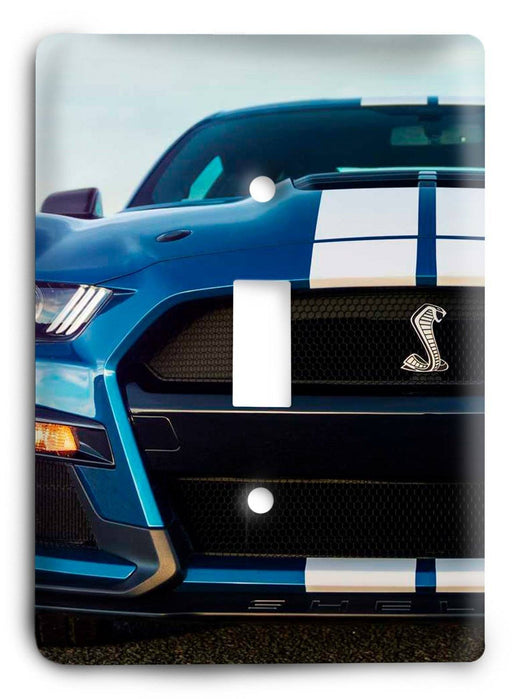 Ford Shelby Mustang  v04 Light Switch Cover - Colorful Switches