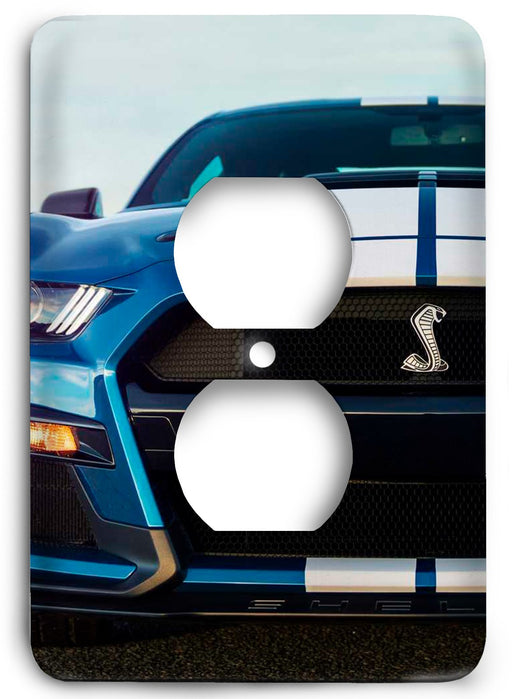 Ford Shelby Mustang  v04 Outlet Cover - Colorful Switches