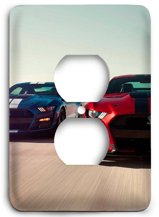 Ford Shelby Mustang  v05 Outlet Cover - Colorful Switches