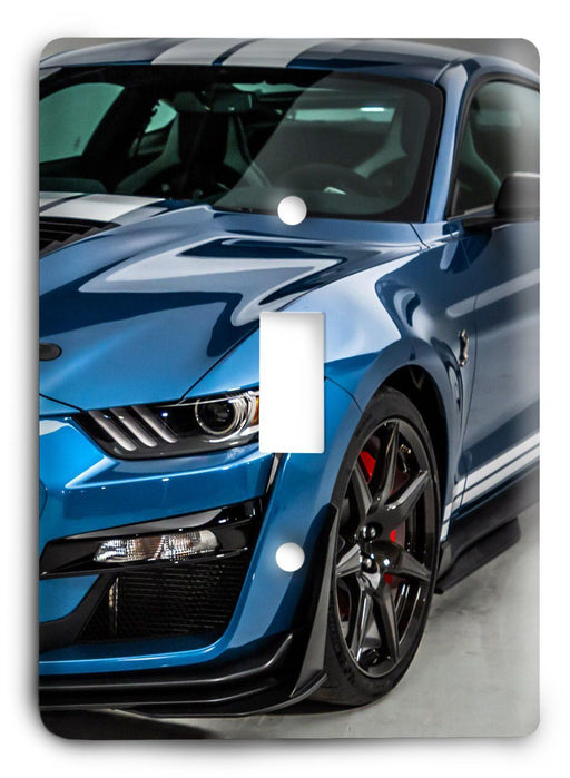 Ford Shelby Mustang  v06 Light Switch Cover - Colorful Switches