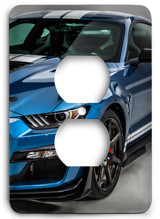 Ford Shelby Mustang  v06 Outlet Cover - Colorful Switches