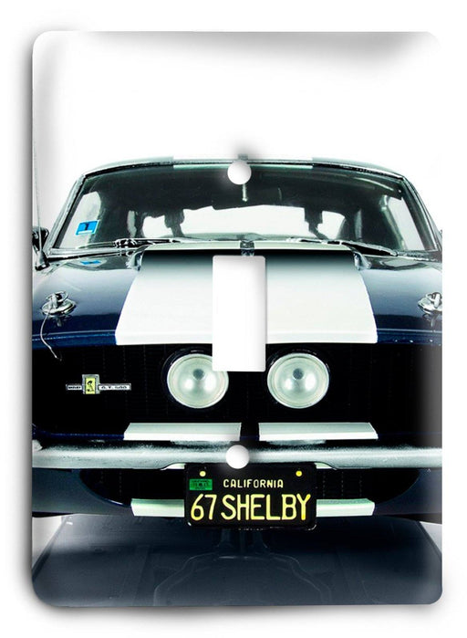 Ford Shelby Mustang  v07 Light Switch Cover - Colorful Switches