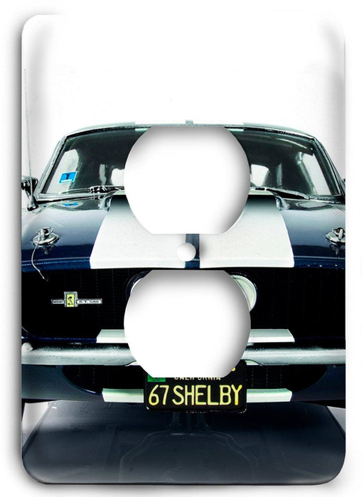 Ford Shelby Mustang  v07 Outlet Cover - Colorful Switches