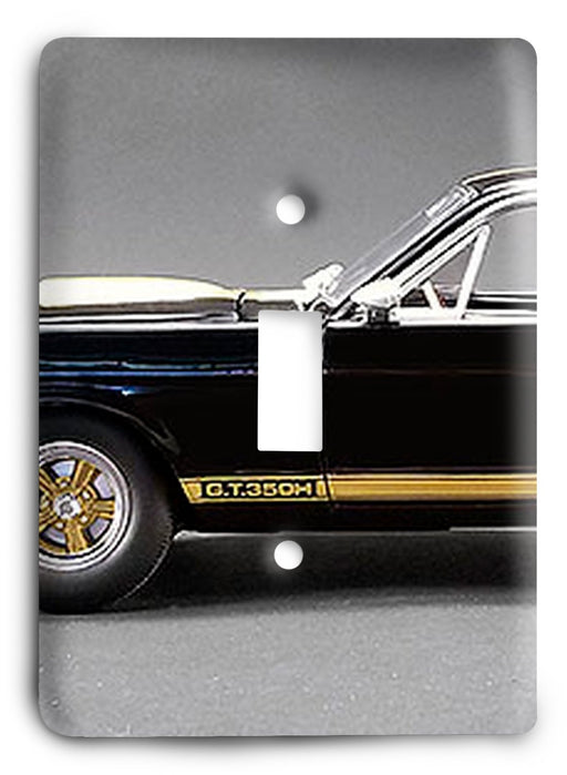 Ford Shelby Mustang  v09 Light Switch Cover - Colorful Switches