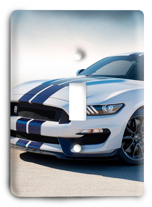 Ford Shelby Mustang  v10 Light Switch Cover - Colorful Switches