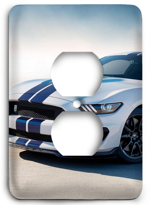 Ford Shelby Mustang  v10 Outlet Cover - Colorful Switches