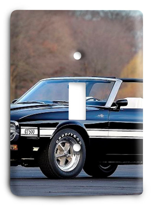 Ford Shelby Mustang  v11 Light Switch Cover - Colorful Switches
