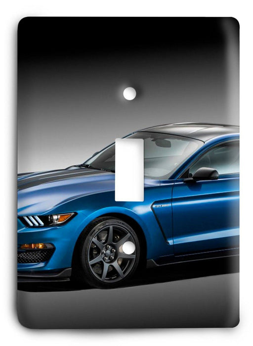 Ford Shelby Mustang  v12 Light Switch Cover - Colorful Switches