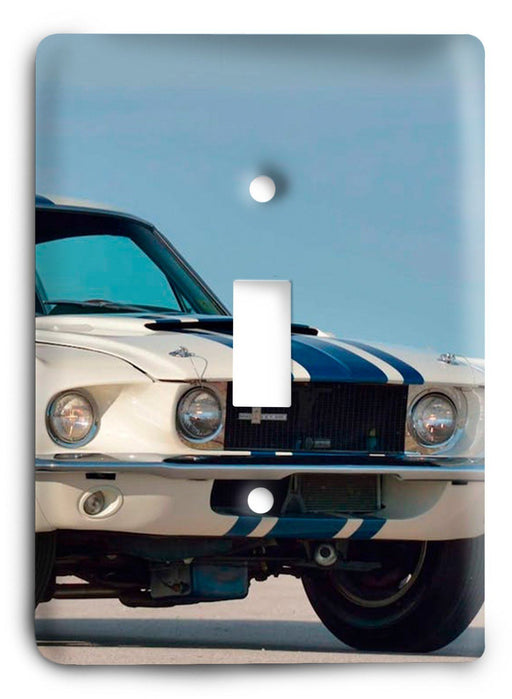 Ford Shelby Mustang  v13 Light Switch Cover - Colorful Switches