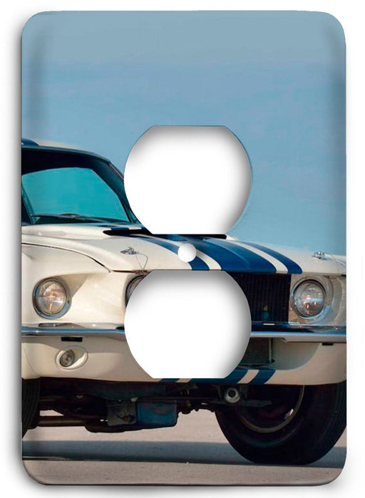 Ford Shelby Mustang  v13 Outlet Cover - Colorful Switches