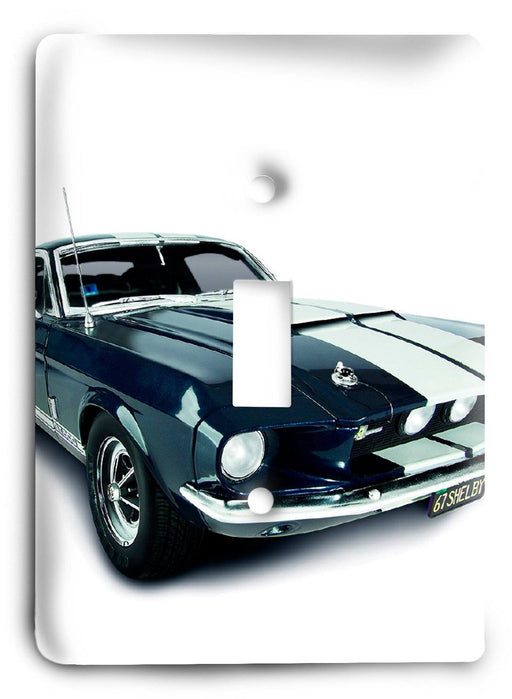 Ford Shelby Mustang  v14 Light Switch Cover - Colorful Switches