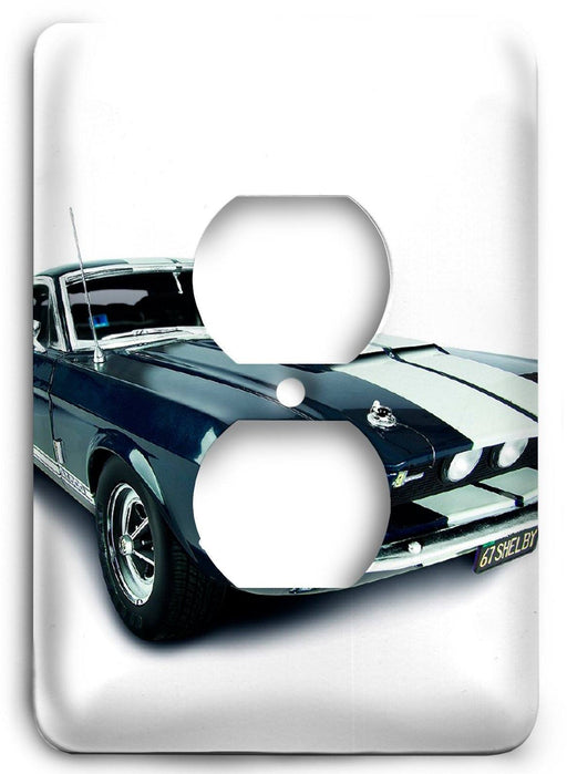 Ford Shelby Mustang  v14 Outlet Cover - Colorful Switches