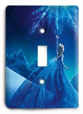 Frozen Elsa Snow Queen Light Switch - Colorful Switches
