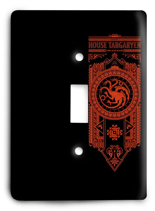 Game Of Thrones G5v142 Light Switch Cover - Colorful Switches