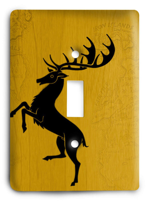 Game Of Thrones G5v160 Light Switch Cover - Colorful Switches