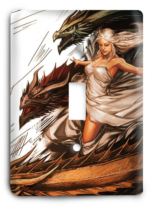 Game Of Thrones G5v200 Light Switch Cover - Colorful Switches
